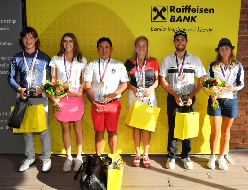 OBRAZEM: Czech International Amateur Championship by Raiffeisenbank